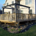 Beautiful Wood Deck Leesburg Va