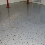 Finished Epoxy Garage Reston Va
