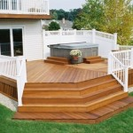 Wood Deck in Clarendon Virginia